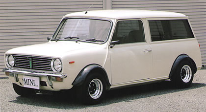 1973 MINI CLUBMAN ESTATE